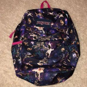 Used Jansport cat backpack